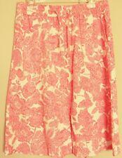 SPORTSCRAFT print SKIRT Lyocell / Tencel  elastic drawstring waist ~ Women sz 12
