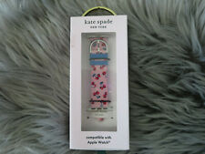 KATE SPADE APPLE WATCH PINK CHERRY SILICONE BAND-38MM-40MM-BOXED
