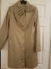 Oasis Size Small Beige Coat New, trendy mac style.