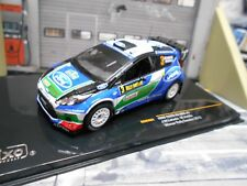 Ford fiesta wrc RS rally Suecia 2012 #3 Latvala Edge castrol Ixo 1:43