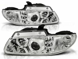 CHRYSLER VOYAGER 1996 1997 1998 1999 2000 2001 LPCH07 HEADLIGHTS HALO RIMS