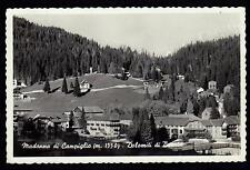 MADONNA DI CAMPIGLIO TRENTO CARTOLINA DOLOMITI DI BRENTA FP VG 1955 - FONDRIEST