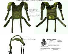 Original Danish army camo M 96 webbing yoke. Paratrooper PLCE webbing set yoke