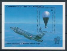 [105762] Dominica 1983 200 years Aviation air balloon Souvenir Sheet MNH