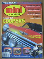 MINI MAGAZINE APRIL 2002 FLIPPED-OUT COOPERS