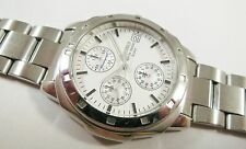 Seiko SKS033 Silver Tone Stainless Steel V657-9021 Sample Watch NON-WORKING