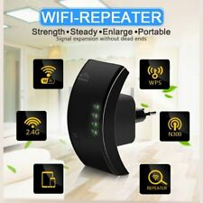 New Wireless Wifi Range Router Repeater Extender 300Mbps Network Signal Booster