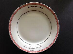 """Kiss that Frog Bistro De Paris 7.5"""" Lunch Salad Dessert Plate"""