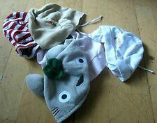 ✿ bekleidungspaket 5 neuw baby mützen ua v steiff (rar) 48+ gratis kuscheltier 2