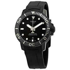 Tissot Seastar 1000 Black Dial Automatic Men's Rubber Watch T120.407.37.051.00