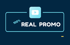 I will do youtube promotion