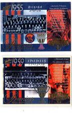 Select AFL  VFL Premiership Commemorative Card MELBOURNE PC30,PC49