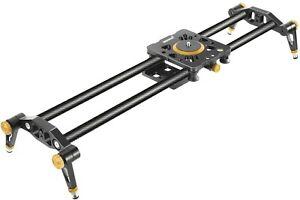 "Neewer Carbon Fiber Camera Track Slider Video Stabilizer Rail 31.5""/80cm"