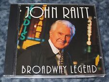 "JOHN RAITT CD ""BROADWAY LEGEND"" RARE 1995 ANGEL RECORDS"