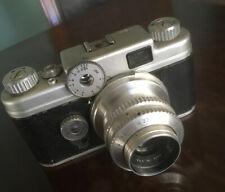 Argus C Four C4 35mm Film Rangefinder Camera Cintar 50mm F2.8 Lens, Untested.
