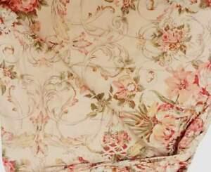 Vintage Ralph Lauren Guinevere  King Duvet Set In Cotton Sateen