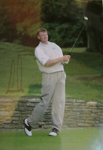 7x5 Hand Signed Photo of Golf Legend Ernie Els