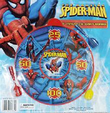 Spiderman Mini Magnetic Dart Board / Fun 4 Kids / Party Favors