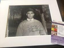 Sam Snead Golf Autograph Signature Photo Picture Pga Masters Jsa Certificate