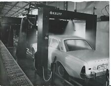 Ford Taunus 1965 Krupp Automatic Car Wash Original Large Press Photograph