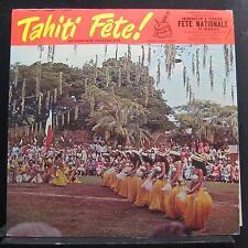 Gaston Guilbert - Tahiti Fete! LP VG+ TT 1800 1958 Stereo USA Vinyl Record