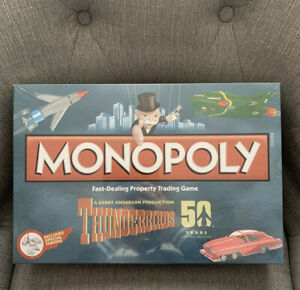 THUNDERBIRDS 50 YEARS MONOPOLY BOARD GAME SEALED 2015