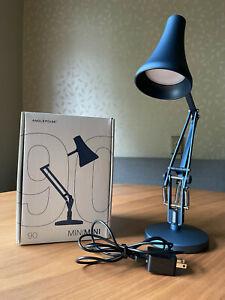 Anglepoise 90 Mini Mini Desk Lamp (Steel Blue)