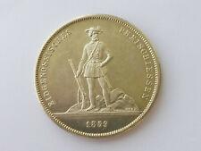 L3040      SCHWEIZ ZÜRICH 5,- Franken 1859 Schützentaler