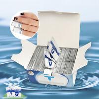 200 PCS Nail Art Soak Off Remover UV Gel Polish Acrylic Cleanser Foil Wraps