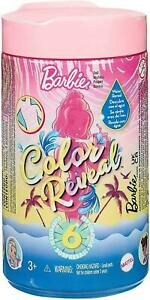 Barbie Chelsea Colour Reveal Sand and Sea Doll Assortment with 6 Surprises