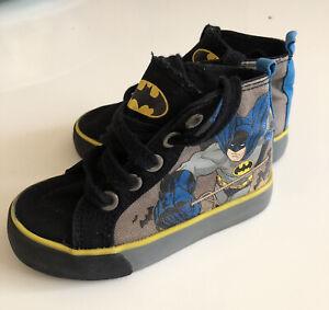 Boys DC Comic Batman High top Shoes