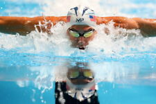 Hot Fabric Poster Michael Phelps Motivational Quotes USA Swimming Sport 36 Z2543