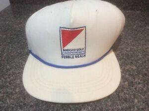 Vintage Nabisco Golf Baseball Cap Pebble Beach