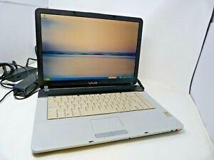 Sony Vaio PCG-7D1M Laptop Windows XP 2GB RAM 80GB HDD