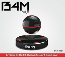 B4M ORB-Dark Black Bluetooth 4.1 Floating Sound Levitating Maglev Speak (NFC)