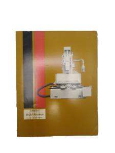 Cincinnati Milling Machine Co. - Royal Scotsman Manual (1964)