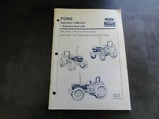 Ford New Holland 5640 6640 7440 7840 8420 8340 Tractor Operator's Man   42564065