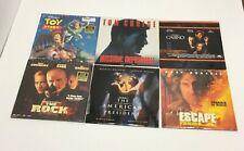 Lot (10) Laserdiscs Movies Concerts Barbra Eraser Casino Toy Story The Rock