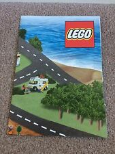 Lego Large Paper Fold Play Map RARE (From Old Lego Promotion, Cant Buy On Own)!