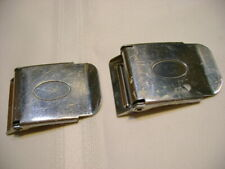 2 Ea Used Heavy Duty Divers Weight Belt Buckles Stainless Steel (Lot #2)