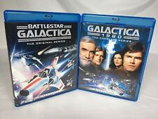 BATTLESTAR GALACTICA REMASTERED COLLECTION Blu-ray Complete 1978 + 1980 Series
