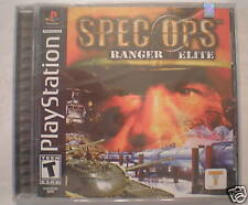 Spec Ops: Ranger Elite (Playstation PS1) Brand New!