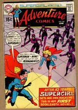Adventure Comics #381 - The Supergirl Gang! - 1969 (4.0) WH