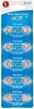 New 10x AG7 395A 926 LR927 SR927SW LR57 SR927 Alkaline Button Cell Watch Battery