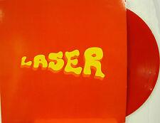 """LASER """"VITA SUL PIANETA""""  lp reissue red vinyl Italy unplayed"""