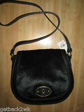 NEW Fossil VRI TZ Crossbody Handbag Bag $218 Leather Black Like Syle