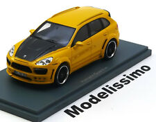 1:43 Neo Porsche Cayenne Hamann Guardian 2011 yellow/carbon