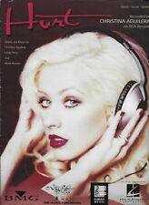 Christina Aguilera Hurt sheet music songsheet