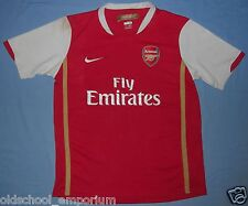 Arsenal FC / 2006-2008 Home - NIKE - JUNIOR Shirt / Jersey. Size: 13/15, 158-170