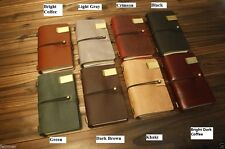 6X4 Handmade Vintage Retro Genuine Leather Custom Travel Journal Diary Note Book